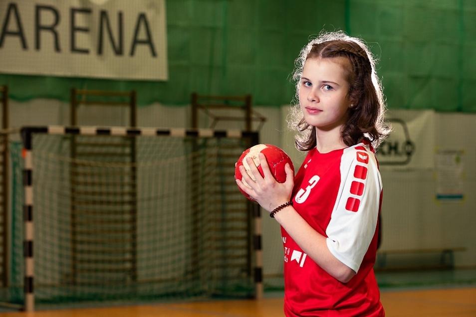 Vanessa Huth vom SC Hoyerswerda spielt im Team Sachsen.