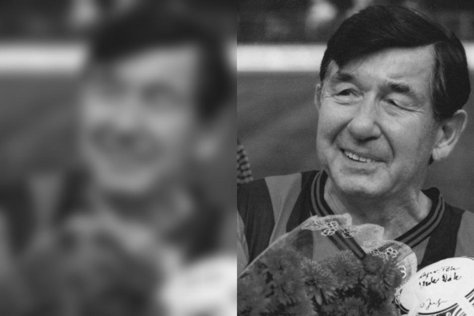 Werner Petzold hat mit 70 Jahren sein Abschiedsspiel gegeben im Weinau-Stadion.