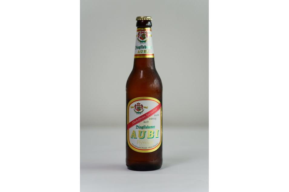 Marke: Dingslebener AUBI; Braustil: untergärig; Alkoholgehalt: k. A.; Kaloriengehalt: 13 kcal/100 ml; Zucker: 0,2 g je 100 ml; Preis (0,5 l): 0,75 Euro