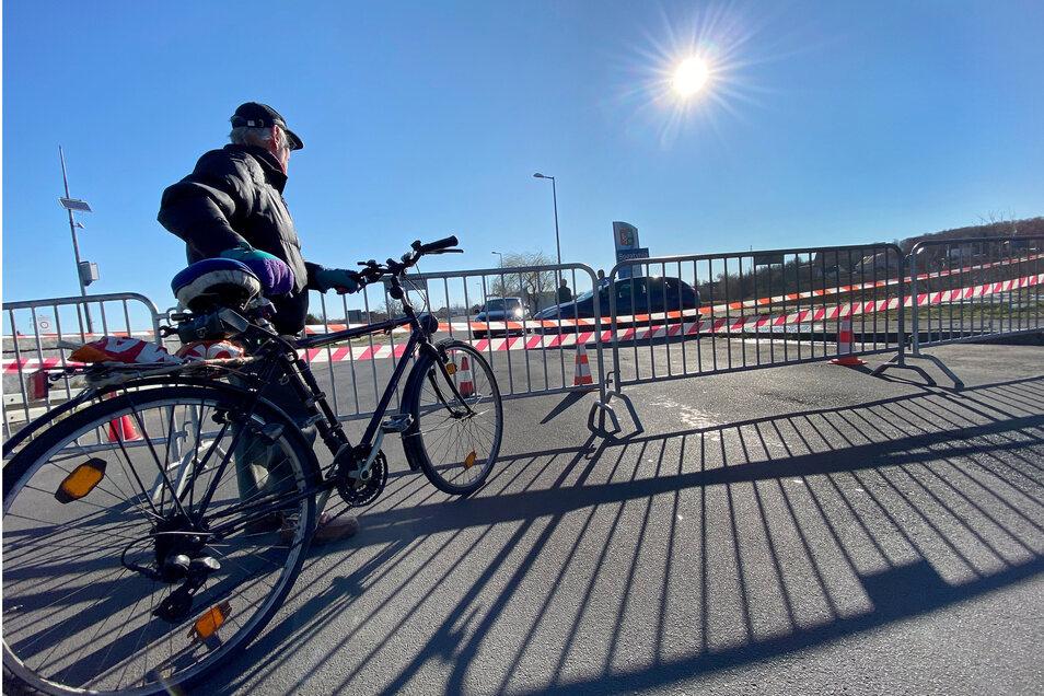 Der Grenzübergang an der Zittau Chopinstraße ist für den Verkehr komplett geschlossen.