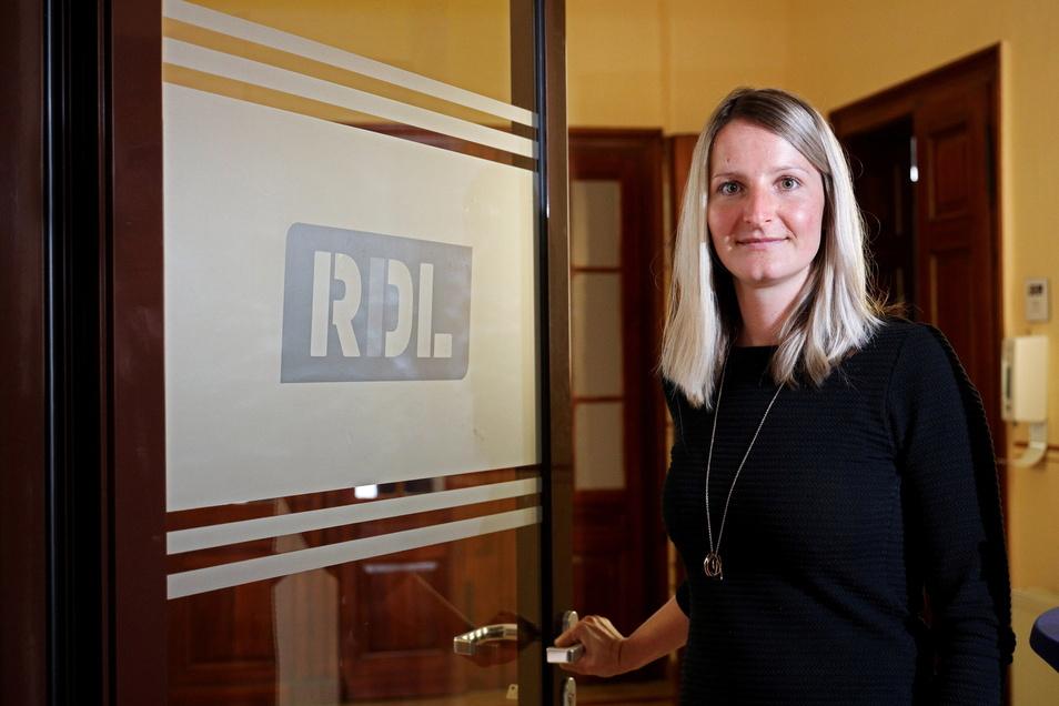 Sophie Balzer ist mit 31 Jahren gerade zur Prokuristin der Riesaer WGR-Tochter RDL geworden.