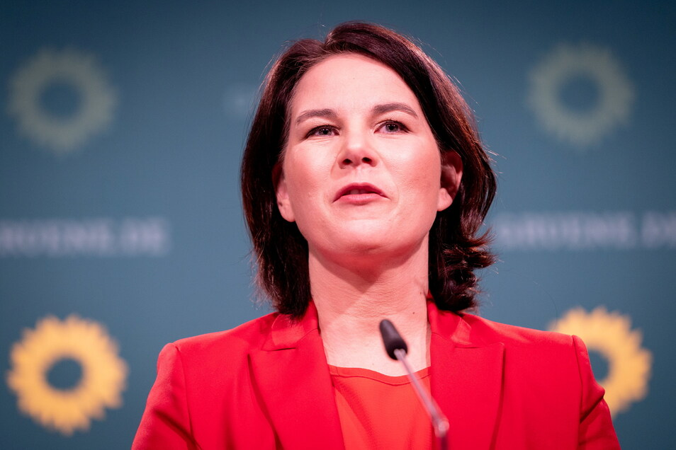 Spätestens seit ihrer Kür zur Kanzlerkandidatin haben die Grünen in Umfragen die Union überholt.