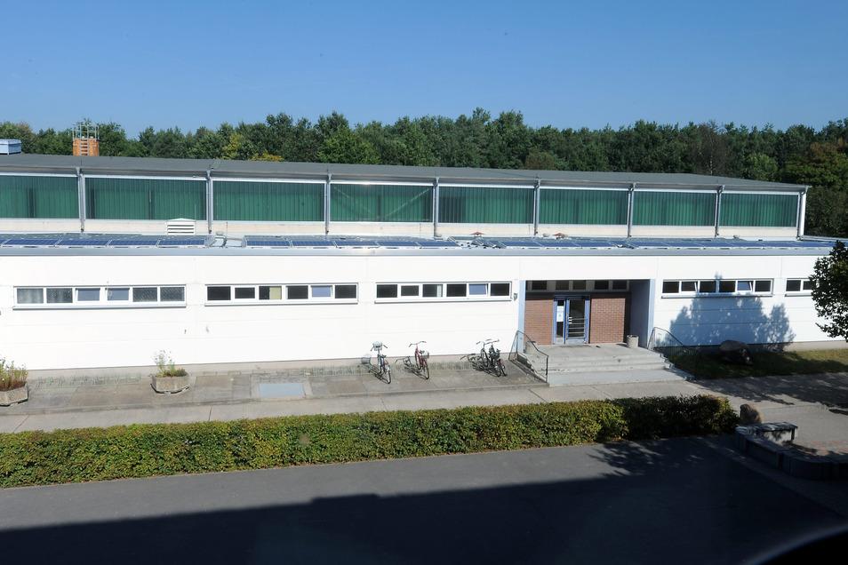Die alte Sporthalle in Schleife.