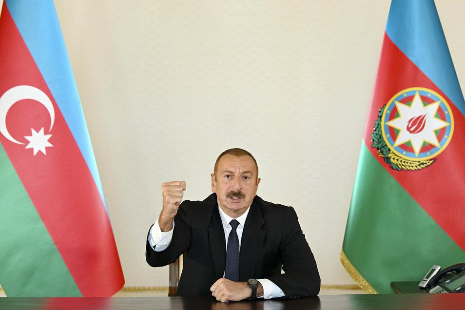 Ilham Alijew, Präsident der Republik Aserbaidschan.