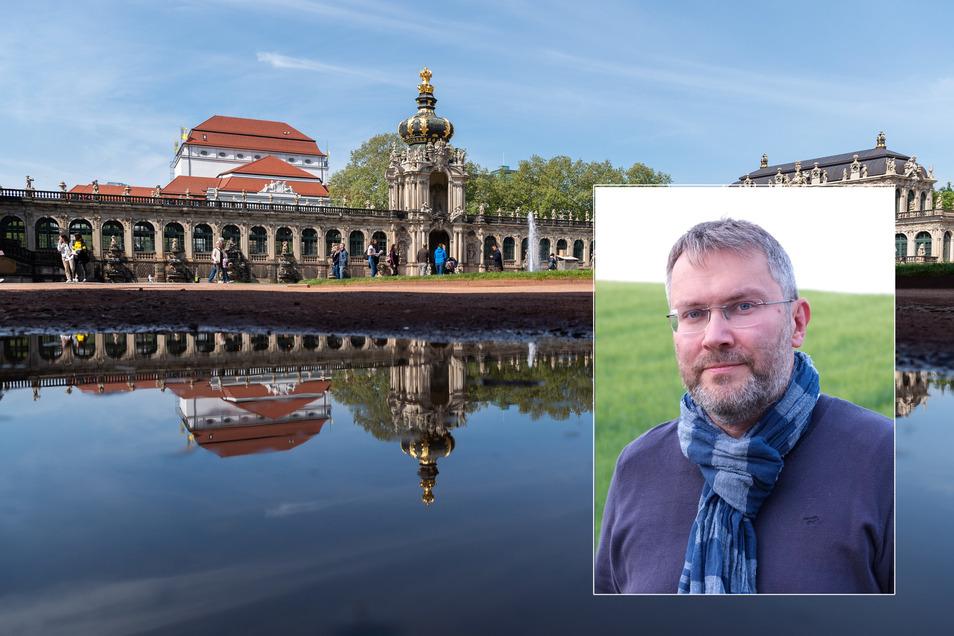 Kai-Uwe Beger hat die Aufgabe als Zwingerbaumeister übernommen.