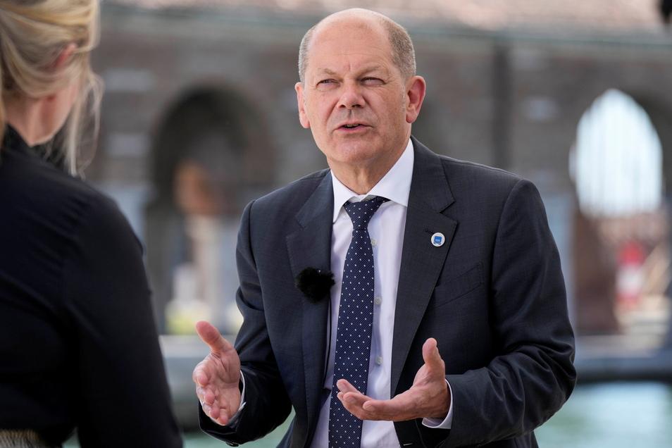 Olaf Scholz, Bundesfinanzminister und SPD-Kanzlerkandidat.