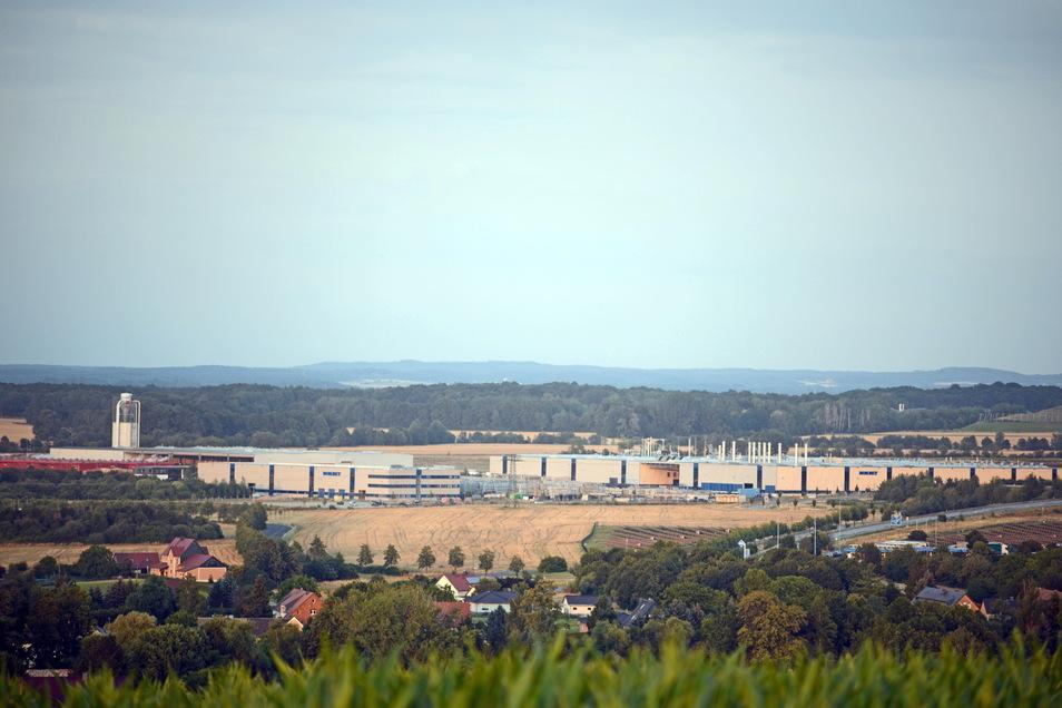 """Direkt vor Borbet Sachsen befindet sich das neue Gewerbegebiet """"An der Industriestraße"""" in Kodersdorf. Hier wollen zwei Interessenten investieren."""