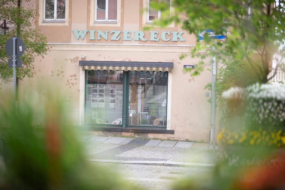 Das Winzereck im Kamenzer Stadtzentrum steht lange leer. Es soll nun wieder belebt werden.