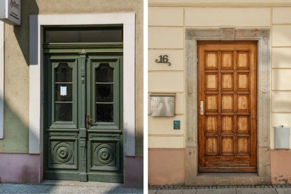 Laut Denkmalschutz stammt das Wohn- und Geschäftshaus in der Gabelsbergerstraße 7 (links) ursprünglich aus dem 16. Jhdt. Unter Denkmalschutz steht auch das Gebäude in der Siegelgasse 16 (rechts), das Mitte des 18. Jahrhunderts erbaut wurde.