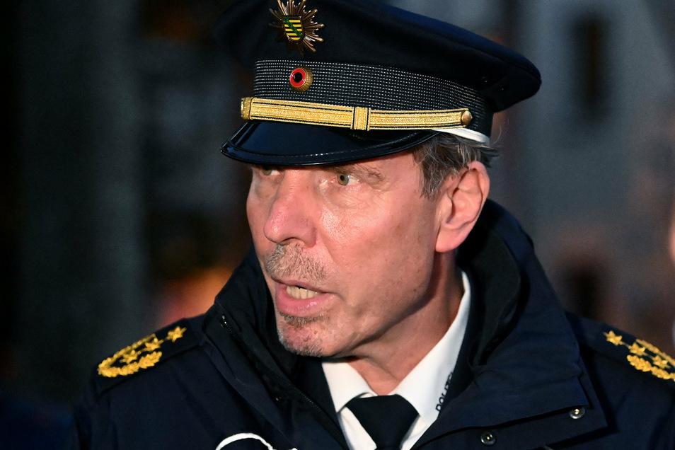 Torsten Schultze, Polizeipräsident von Leipzig.