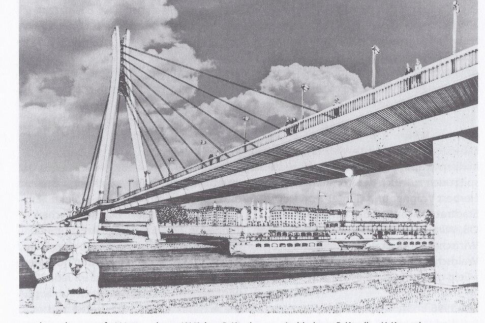 Mit viel Aufwand und unter Zeitdruck hatte Rudolf Kusches Team den Entwurf geplant.