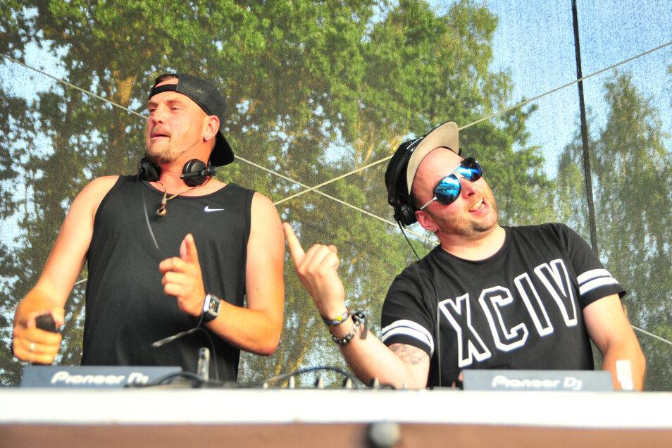 DJ- und Musikproduzenten-Duo aus dem Erzgebirge Stereoact.