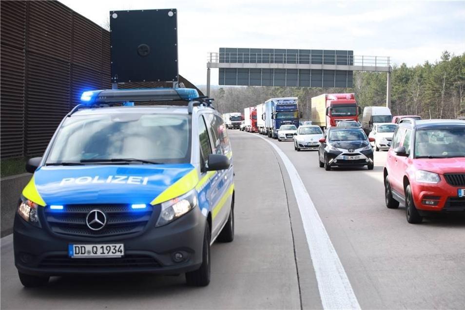 Ein Auffahrunfall auf der A4  hat am Freitag für Stau in Richtung Görlitz gesorgt.