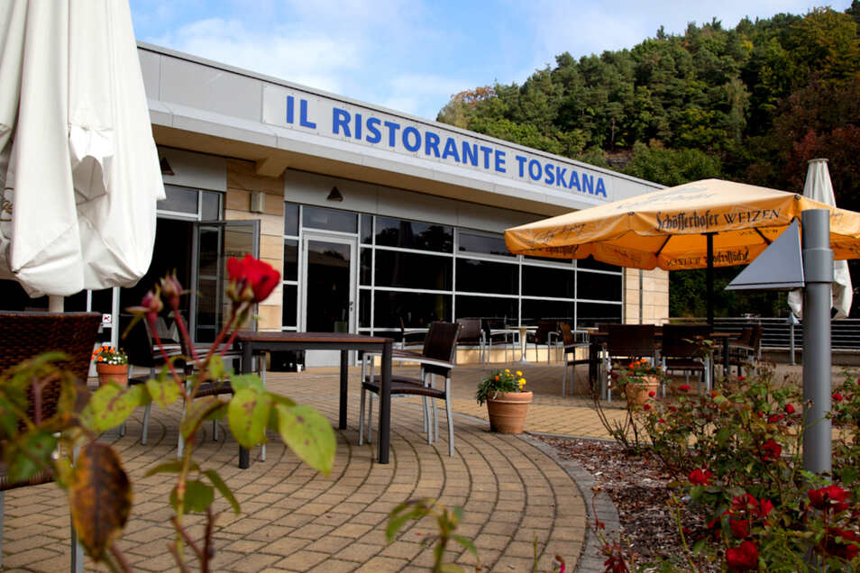Das Restaurant der Toskana-Therme Bad Schandau.
