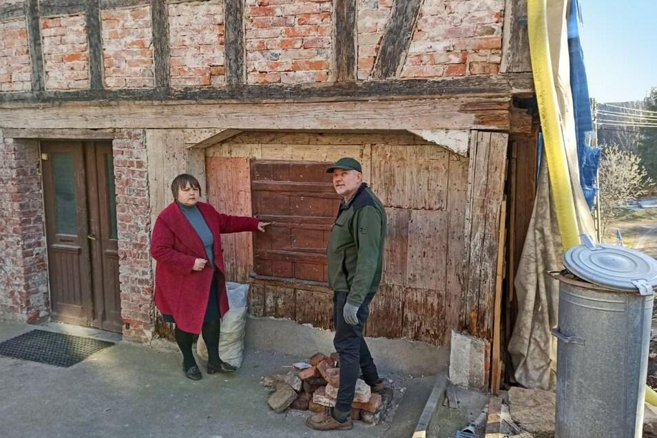 Danuta und Antoni Alchimowicz wollen dieses Umgebindehaus im Isergebirgsvorland retten.