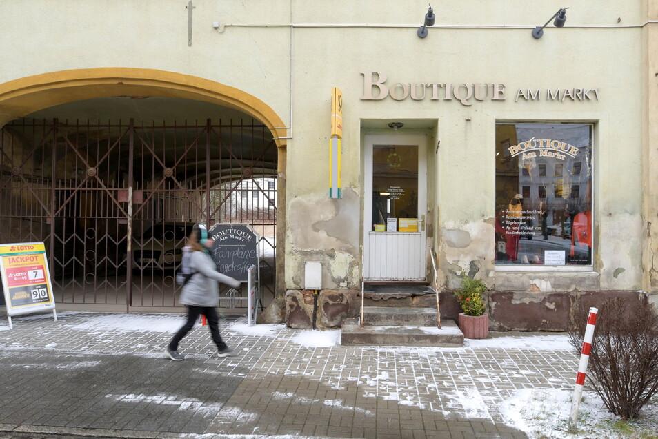 Ende Januar 2021 schloss in Hirschfelde die Boutique am Markt mit ihrer Poststelle.
