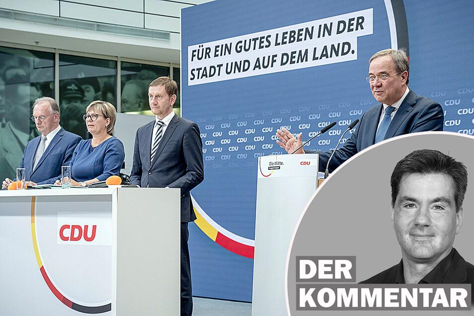 Das CDU-Präsidium tagte am Montag in Berlin. Das große Thema: der Osten.
