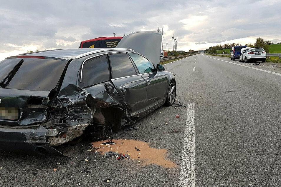 Der Fahrer des Audi versuchte noch auszuweichen.