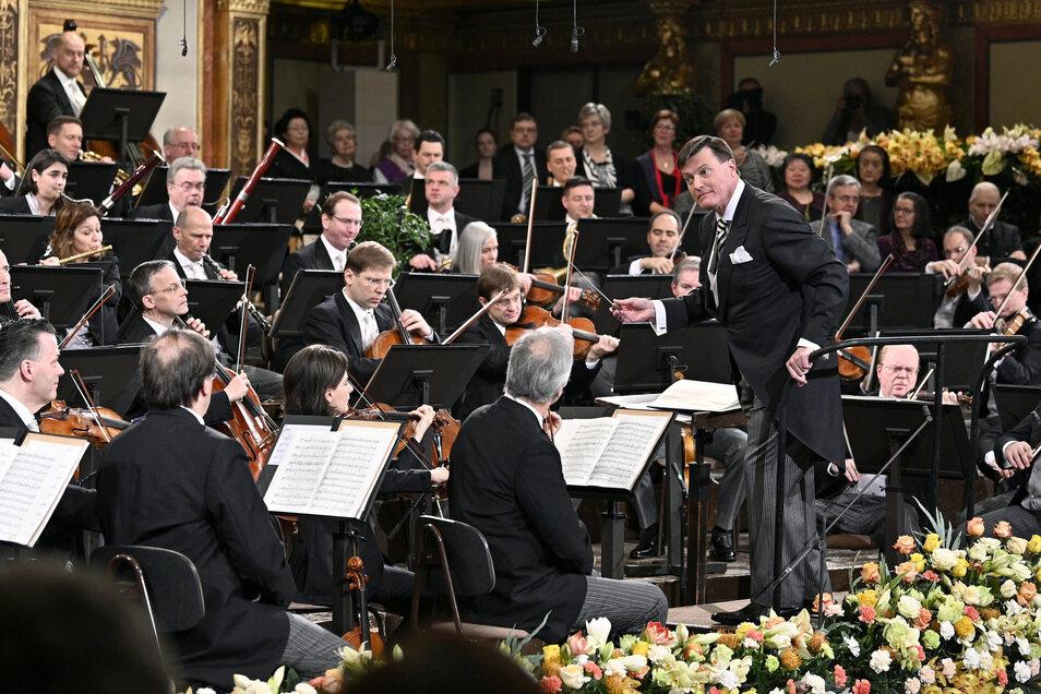 Der Maestro stets hoch konzentriert. Foto:Hans Punz/APA/dpa