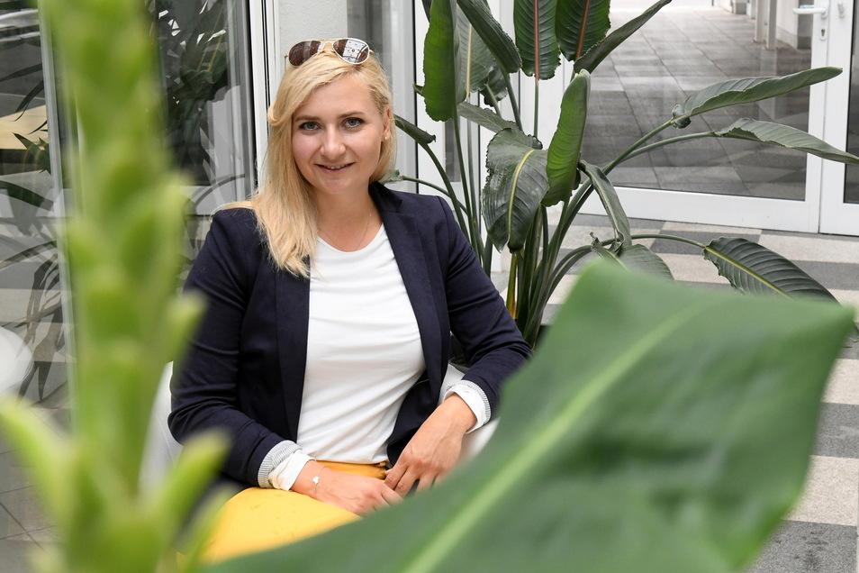 """""""Sie wollten nicht mehr den alten Muff haben, sondern in eine neue Zukunft starten."""" - Das sagt die neue mittelsächsische Vertreterin im Bundestag Carolin Bachmann (AfD) über ihre Wähler."""