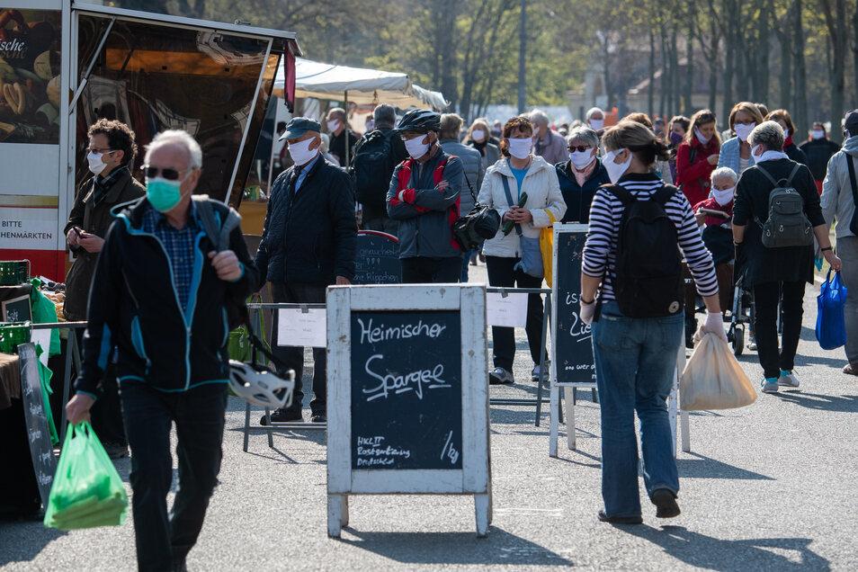 Sobald es sich drängt, wird die Maske zur Pflicht. Welche Gebiete wird es im Landkreis Meißen betreffen?