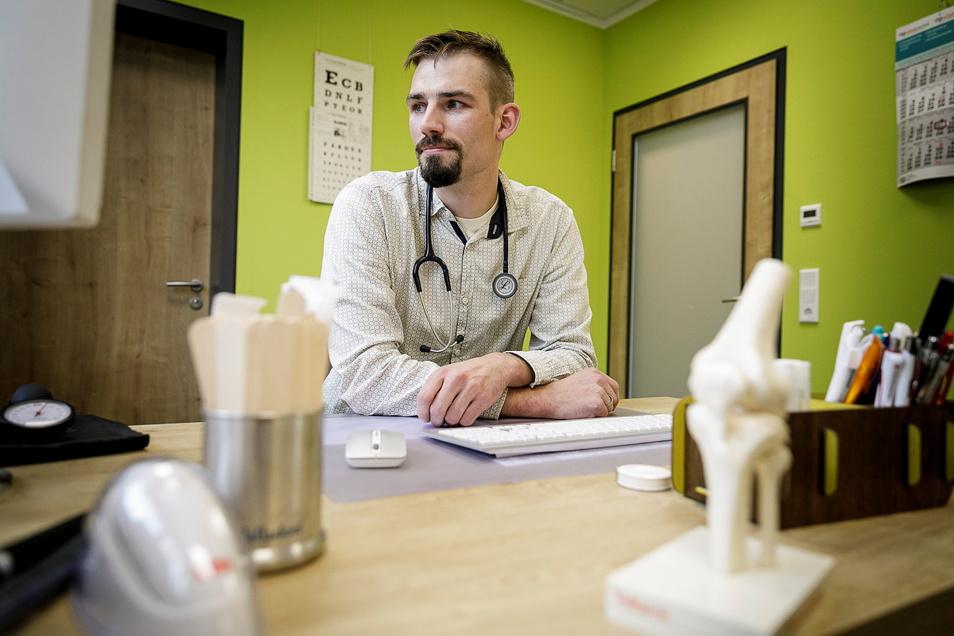 Leonhard Großmann befürwortet die Impfungen in den Praxen sehr. Aber viele Fragen seien noch offen.