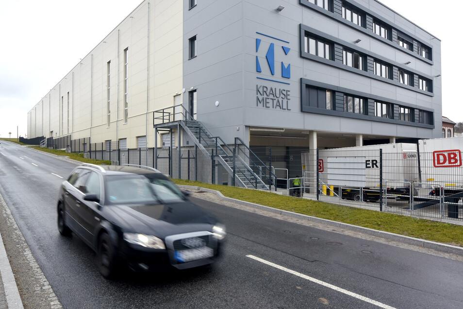 Die Firma Krause Metall hat ihren Sitz im Herrnhuter Ortsteil Schwan.