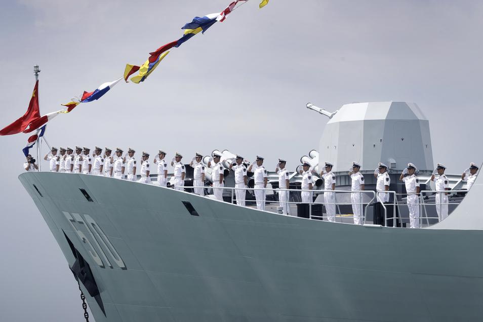 Streitkräfte: China, Russland und Iran beginnen gemeinsames Marinemanöver