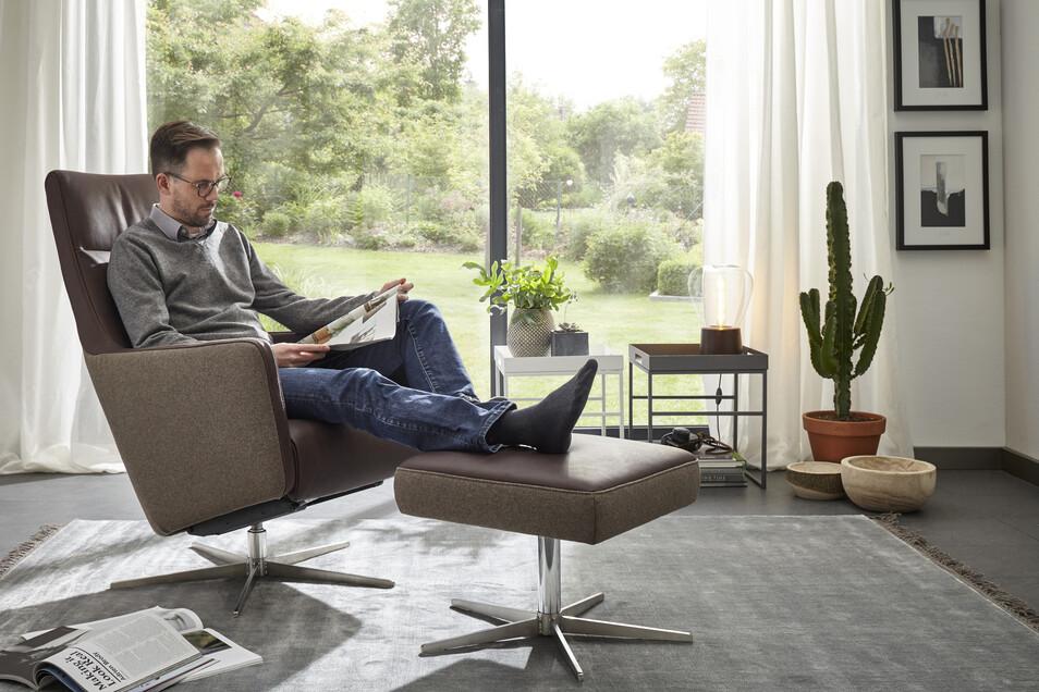 Der Natura Relaxsessel mit Funktionen - statt 1.640€ jetzt für nur 1.198€.