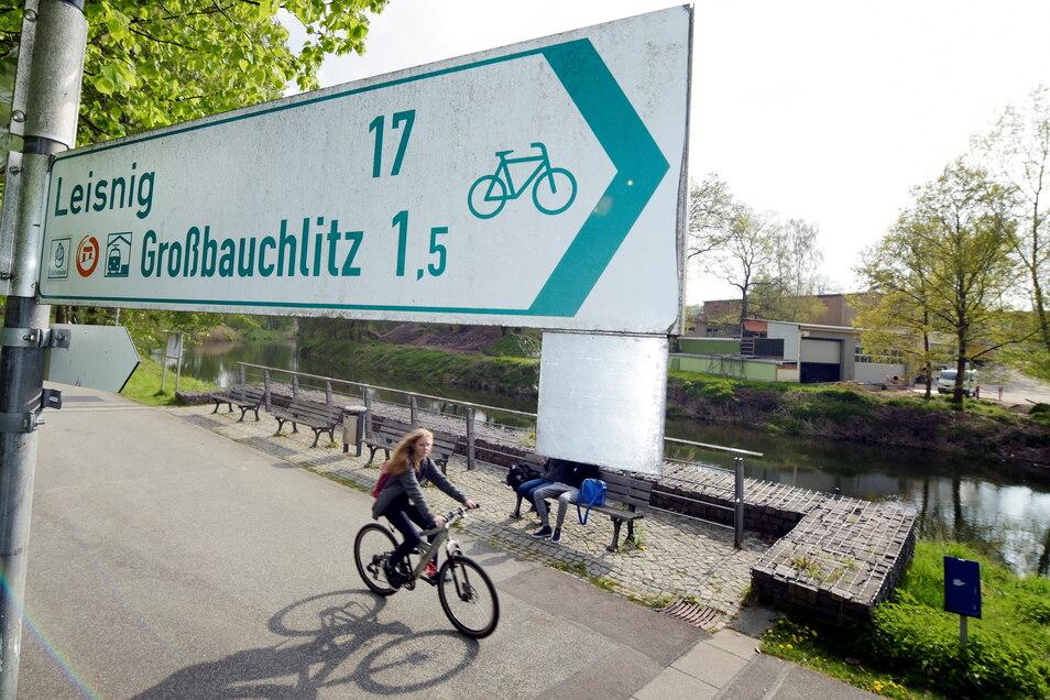 Das Radverkehrskonzept der Stadt Döbeln wird aktualisiert und soll auch der Gemeindeerweiterung angepasst werden. Ein Radweg, der sowohl touristisch als auch für den Alltag genutzt wird, ist der Mulderadweg.