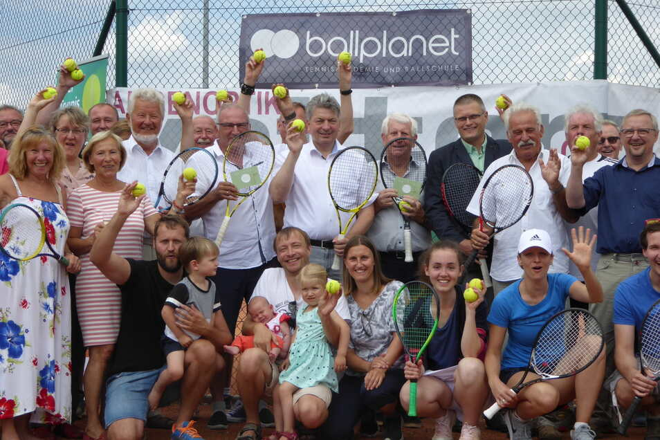 Jubiläum beim Tennisclub