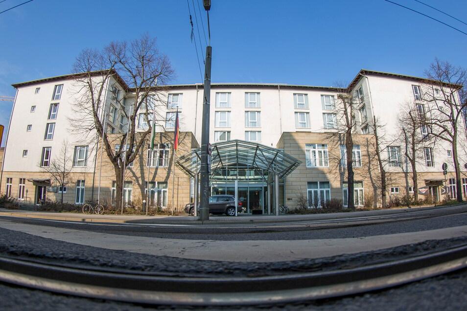 Das Quality Hotel Plaza in Dresden.