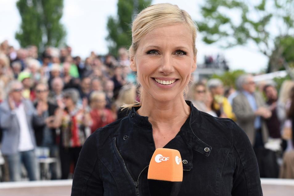 """Andrea """"Kiwi"""" Kiewel moderiert den ZDF-Fernsehgarten. Die Dresdner Chemiefabrik bietet nun einen Gegenentwurf."""