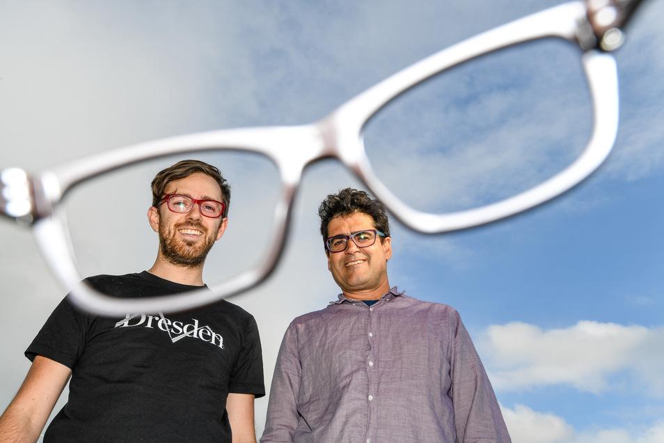 Sie haben der Stadt Dresden ein Marken-Denkmal gesetzt: Jason McDermott und Bruce Jeffreys sind die Gründer von Dresden Optics.