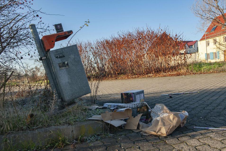 Nach der Silvesternacht gab es viele solcher Bilder im Stadtgebiet.