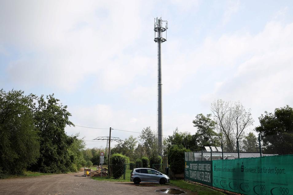 In Röderau am Tennisplatz hatte die Deutsche Funkturm zuletzt einen Sendeplatz errichtet. Ein ähnliches Projekt ist nun in Zeithain geplant.