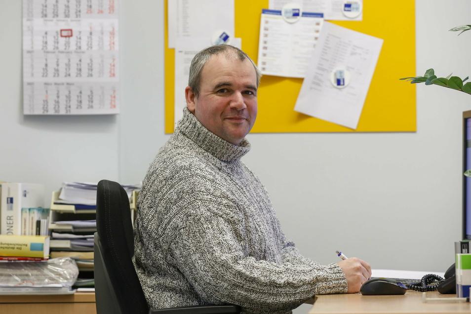 Jiri Zahradnik arbeitet bei der IHK in Zittau und lebt in Tschechien. Nun muss er ins Homeoffice wechseln.