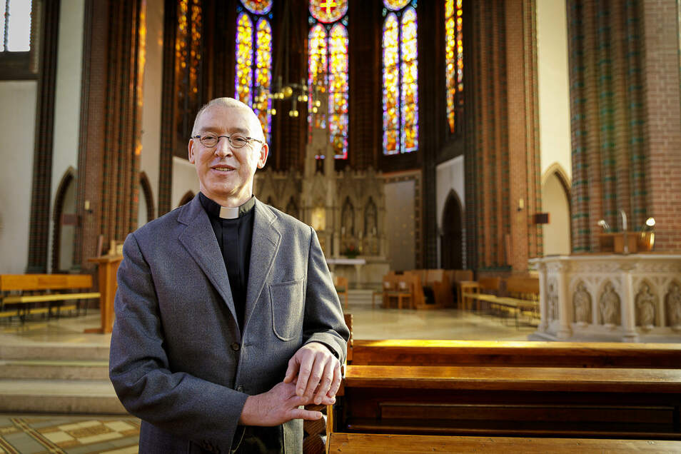 Auch wenn Pfarrer Norbert Joklitschke demnächst aus St. Jakobus ausziehen muss: Es ist ein Schmerz mit Verheißung.