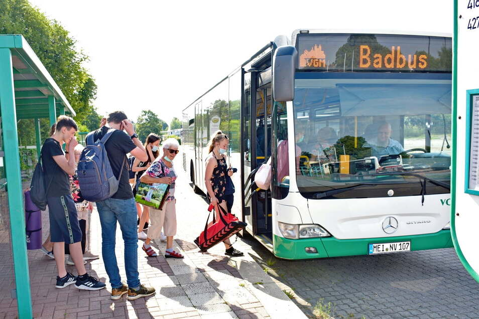 Auch in diesem Jahr wird in den Sommerferien ein Bus Wasserratten aus Lommatzsch kostenlos ins Freibad nach Riesa-Weida oder nach Meißen bringen.