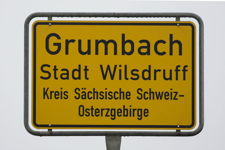 Im Wilsdruffer Ortsteil  Grumbach ist eine Anliegerstraße etwas länger geworden.