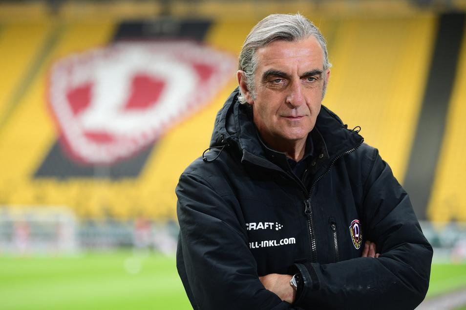 Im Februar 2014 war Ralf Minge als Sportgeschäftsführer zu Dynamo Dresden zurückgeführt, ist maßgeblich für die zunächst sehr positive sportliche Entwicklung verantwortlich.