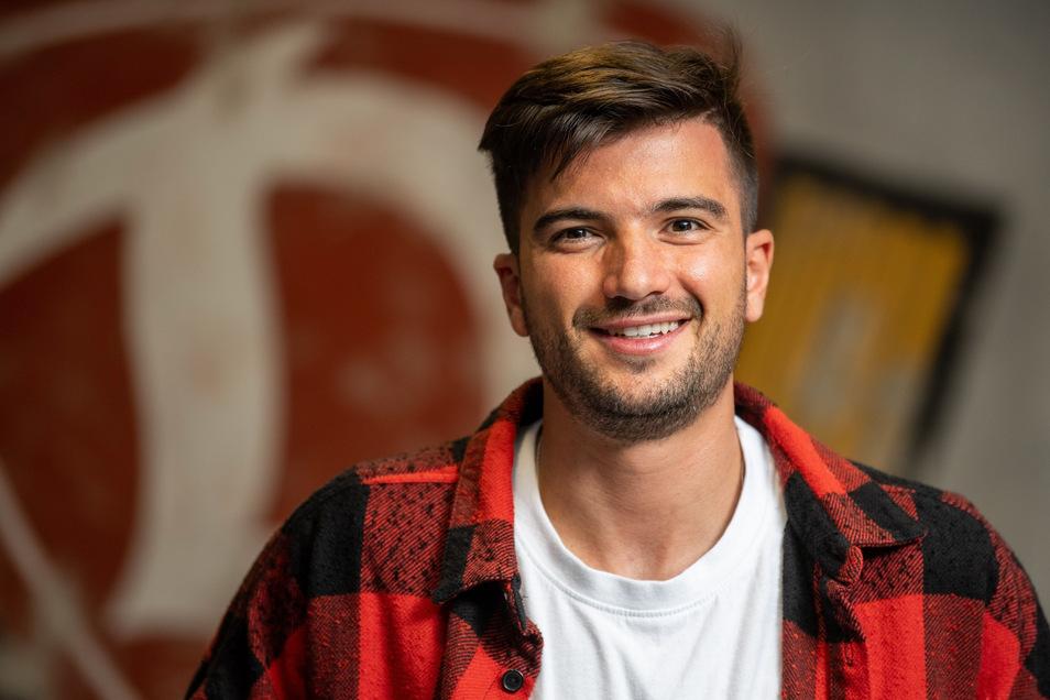 Neuzugang Marco Terrazzino (28) will in Dresden endlich wieder spielen.
