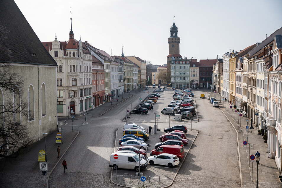 Der obere Teil des Obermarktes (Richtung Reichenbacher Turm) wird am Freitag für eineinhalb Stunden für den Autoverkehr gesperrt.