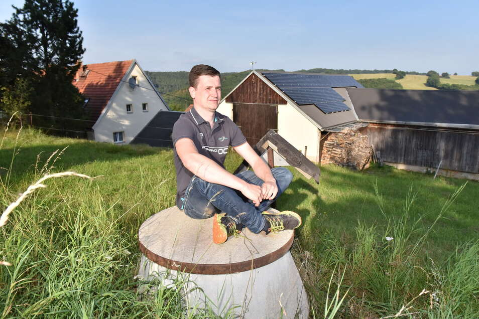 Christian Schneider möchte nicht nur, dass sein Wohnort ans Trinkwassernetz angeschlossen wird. Er möchte auch, dass in Deutschland das Daten- und Mobilfunknetz weiter ausgebaut wird.
