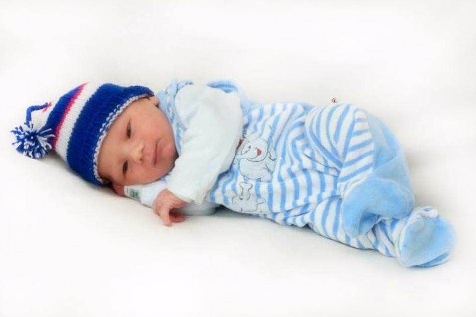 Harvey Heinz Guski;Geboren am 14. Oktober 2020; Geburtsort: Ebersbach-Neugersdorf; Gewicht: 3.115 g; Größe: 50 cm; Eltern: Sarah Guski und Toni Hülle