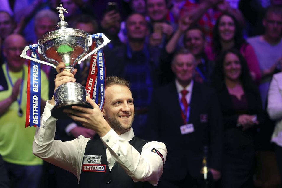 Der Engländer Judd Trump gewinnt die Snooker-Weltmeisterschaft 2019.