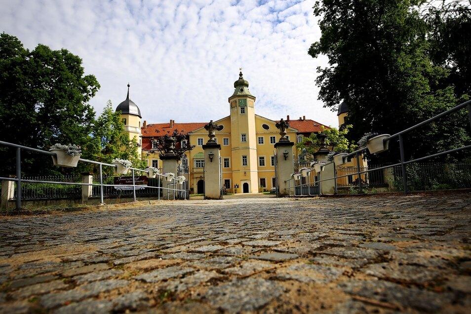 Schlösserpracht Schloss Hermsdorf.