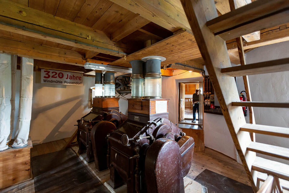 Das kleine Museum im alten Mühlengebäude ist weiterhin geschlossen. Die Walzenstühle aus den 30er-Jahren wurden bis 2003 noch genutzt.