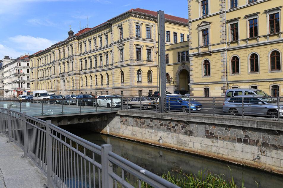 Das Landgericht in Leipzig.