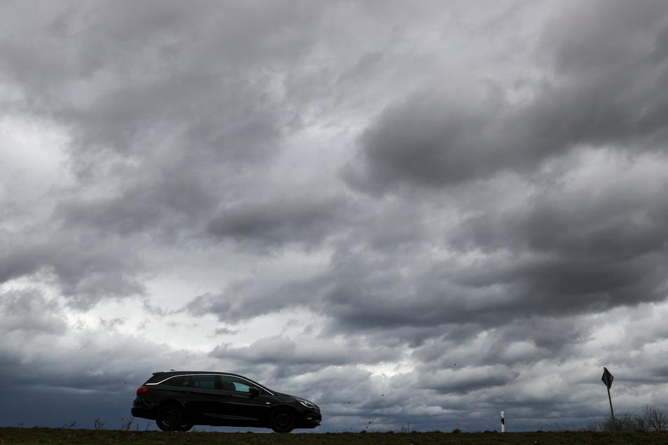 Am Samstag wird es in Sachsen erneut stürmisch.